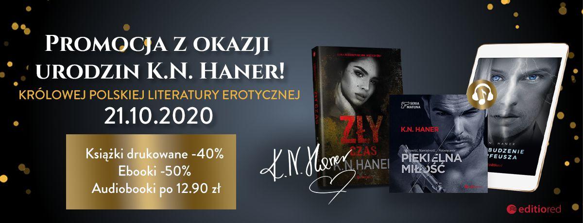 Promocja na ebooki Urodziny K.N.Haner ~ Promocja!